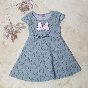 DISNEY Minnie Grey Dress Girl's 6/ 3 for $25